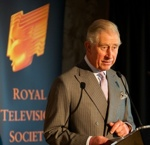RTS patron HRH The Prince of Wales attends RTS Craft Skills Masterclass Day at The Hospital Club, London