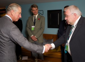 IPS Chairman Simon Bishop meets Prince Charles