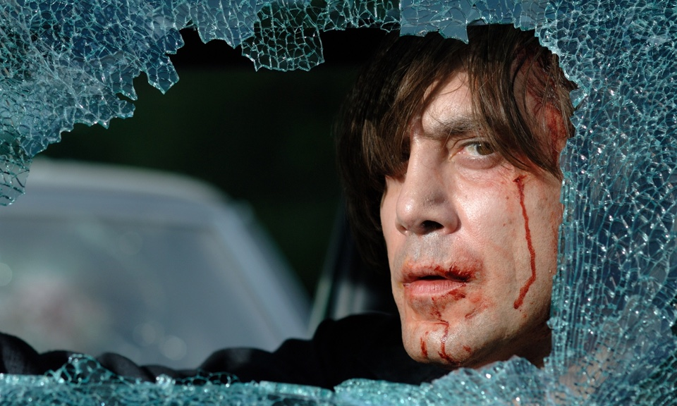 Javier Bardem in No Country for Old Men. Photograph: Imagenet
